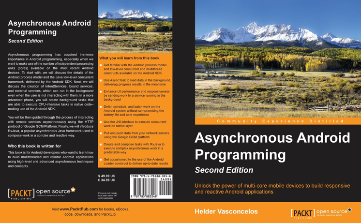 Asynchronous AndroidBook Cover